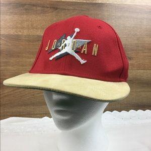 Nike Air Jordan vintage cap with suede visor